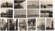 14 PHOTOS ANCIENNES ITALIE VENISE VENEZIA Tourisme 1952 Basilique Palais Pont