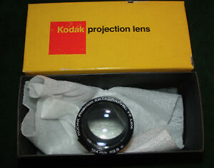 Vintage KODAK  Ektagraphic Projector FF Lens 124mm f/2.8