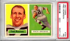 1957 Topps Fred Morrison PSA 7 NM # 154