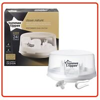 ❤ Tommee Tippee Closer to Nature Microwave Steam Steriliser BPA Free ❤