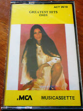Cher Greatest Hits  Cassette Re-released in 1990 ACT 2519