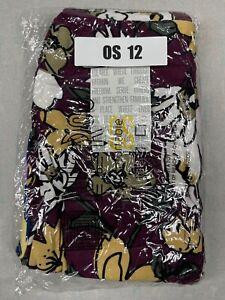 2 Pair One Size LuLaRoe Leggings OS 12