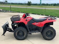 2009 Suzuki KingQuad® 450Axi Red