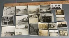 Lot of 20 WWII Photos Europe Germany City Buildings Austria Signs ETO Streets