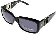Gianfranco Ferre Sunglasses Women Swarovski Elements GF 87701 Black Rectangular