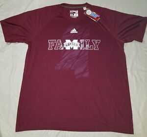 Mississippi state adidas XL Tshirt NEW COLLEGEIATE LICENSED PRODUCT