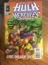 Incredible Hulk: Hercules Unleashed #1 (Oct 1996, Marvel)