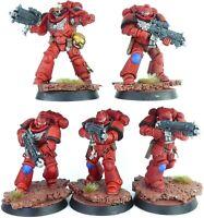 Warhammer 40K Space Marines Blood Angels Primaris Intercessor Squad Kill Team