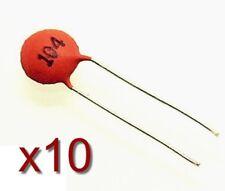 10x Condensateur céramique type 104 50 V 0,1 uF (100 nf) Ceramic Capacitor DIP