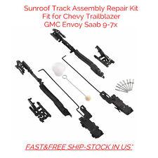 Sunroof Track Assembly Repair Kit For Chevy Trailblazer Blazer Envoy Saab 9-7x