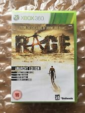 BRAND NEW FACTORY SEALED RAGE ANARCHY EDITION FOR XBOX 360