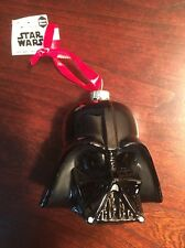 New ! Star Wars Darth Vader Blown Glass Christmas Ornament by Hallmark