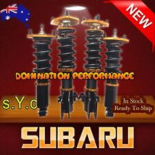 Subaru WRX GC8 Coilover Kit - Complete SYC Fully Adjustable F+R Suspensions
