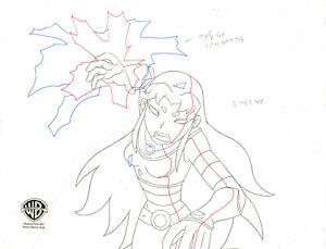 Teen Titans Animated Series Original Production Drawing-Blackfire