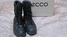 NIB Ecco TRACK ELITE Black HIGH  Leather GoreTex Boots Size EU 48 (US 14-14.5)