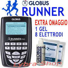 GLOBUS RUNNER PRO elettrostimolatore Running Corsa Strada Sterrato Trail