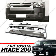 1695 Narrow-body Plating Front Grille For Toyota Hiace 200 Series 4 Type 2014-17