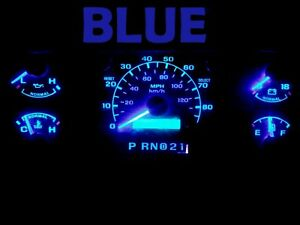 Gauge Cluster LED Dash kit Blue For Ford 92 96 Bronco F150 F250 F350 Truck