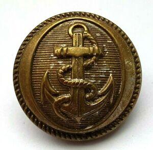Victorian Royal Naval Uniform Button - Poss Surgeon - Dentist Etc - Rare - 23mm