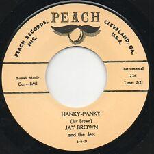 Jay Brown - Hanky Panky - Peach Rockabilly instrumental RE Hear it.