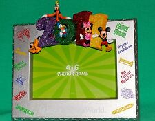 DISNEY WORLD 2011 FAB 5 MICKEY MINNIE DONALD GOOFY PLUTO PHOTO FRAME 4 X 6 PIC