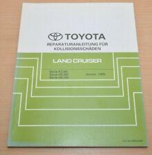Toyota Land Cruiser  FZJ HZJ HDJ Werkstatthandbuch Kollisionsschäden 1995