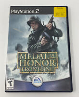 Medal of Honor: Frontline (Sony PlayStation 2, 2002)No Manual Tested Working PS2