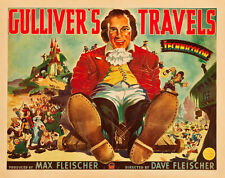 "Gullivers Travels Lobby Card Movie Poster Replica 14 x 11"" Photo Print"