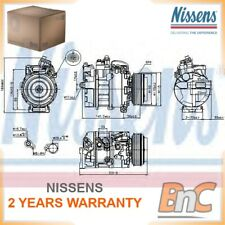 AIR CONDITIONING COMPRESSOR OPEL VAUXHALL NISSENS OEM 24430319 89075
