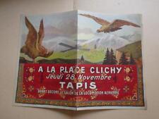 1909.publicité A la place Clichy (aviation).
