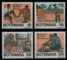 Botswana 1987 - Mi-Nr. 392-395 ** - MNH - Schamanismus