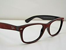 Authentic Ray-Ban RB 2132 6240/85 Alcantara Bordeaux Black Sunglasses Frame $210