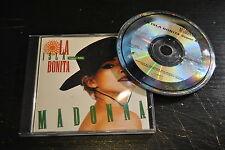 CD SUPER MIX MADONNA LA ISLA BONITA 1987 JAPAN  AUSTRALIA 5 TRACKS