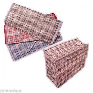 Top Quality Strong Large Jumbo Shopping Laundry Storage Luggage Bag Zip *Laundry