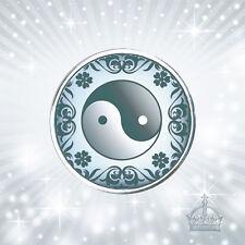 Ying yang click Yin Yang azul button pulsador compatible m. fragmentos sistemas cb617