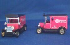 LLEDO LP6-684A 1920 MODEL T Ford VAN UDSALG pink body black roof & chassis