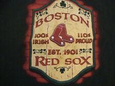 MLB Boston Red Sox Baseball Fan Graphic Print T Shirt L