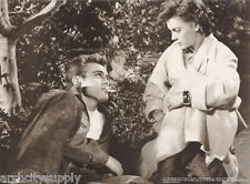 SMALL POSTER - ACTOR - JAMES DEAN W/ACTRESS - FREE SHIPPING ! #M108 RP58 KL