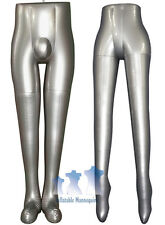 His & Her Special - Inflatable Mannequin - Leg Forms, Silver
