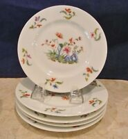 """Set of 5 Towle Madras Royale Limoges France Bread/Butter  6-1/2"""" Plates"""