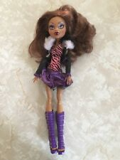 "Monster High 11"" Doll Clawdeen Werewolf Original Ghouls Collection 5 Pack Doll"