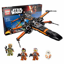 NEW Star Wars First Order Poe's X-wing Fighter Assembled Toy Building Block