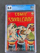 Comic Cavalcade (1948) #29 CGC 8.0 OW/WT DC Comics 3710165001