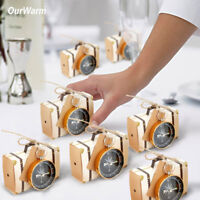 50×Gold Compass with Travel Suitcase Candy Box Wedding Favor Guest Souvenir Gift