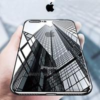 COVER per Iphone XS Max XR X 8 7 6s Plus CUSTODIA ELECTRO + VETRO TEMPERATO 9H
