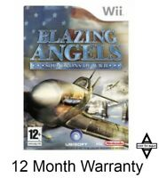 Blazing Angels: Squadrons of WW II Nintendo Wii SAME DAY DISPATCH FAST DELIVERY