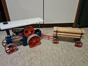 WILESCO  D 405  Dampftraktor & Anhänger A 425