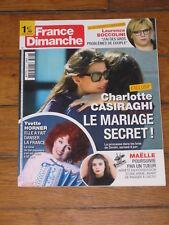 France Dimanche n° 3746 - Yvette Horner, Charlotte Casiraghi, Laurence Boccolini