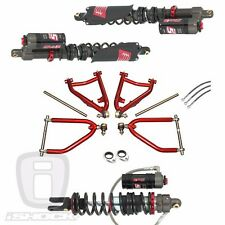 ELKA STAGE 5 SHOCKS Front & Rear LSR DC-4 LT A-Arms Polaris Outlaw 450 525