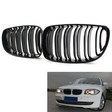 Gloss Black Front Grill Grilles For BMW 1 Series E81 E87 E82 E88 Car Auto 08-11